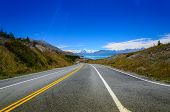 Road To Mount Cook, South Island - New Zealand