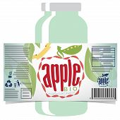 Apple Juice Product Label