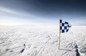 Checkered Flag Finish Line