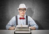 Man writer