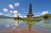 Floating Temple in Lake Bedugul, Bali Indonesia