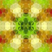 Colorful Triangle Pattern. Vector Geometric Background