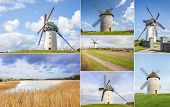 Collage Of Skerries Windmills