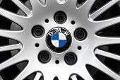Characteristic BMW Logo And Alloy Wheel