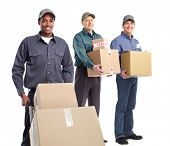 stock photo of postman  - African - JPG