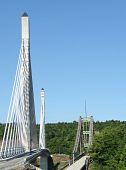 penobscot narrows bridge, old & new