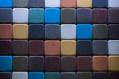 foto of paving  - Image colored tratuar paving as a colorful background - JPG