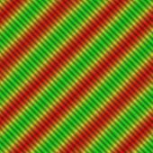 stock photo of oblique  - Magic shining red yellow green oblique stripes - JPG