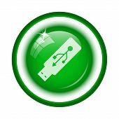 picture of usb flash drive  - Usb flash drive icon - JPG