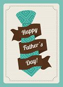 image of special day  - Happy fathers day card design - JPG
