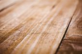 pic of extreme close-up  - Wooden table in extreme close up - JPG