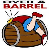 Sobre un barril