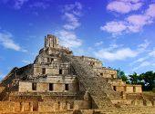Maya Temple Pyramid