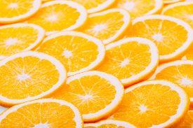stock photo of orange  - Orange Fruit Background - JPG