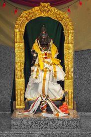 picture of shiva  - Kartikeya the second son of Lord Shiva and Goddess Parvati or Shakti - JPG