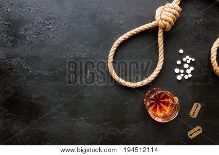Various Methods Of Suicide Rope