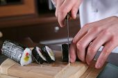 Vorbereitung Sushi Chef
