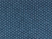 blue polo shirt fabric knit texture. high magnification. perpendicular knit line.