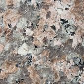 High magnification granite stone texture