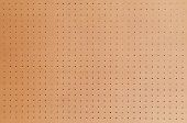 stock photo of pegboard  - Large peg board - JPG