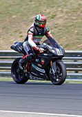 HUNGARORING, HUNGARY - JUNE 19: An unidentified rider participates during ROSBK event at Hungaroring