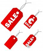 Vector shopping, web tags/labels.