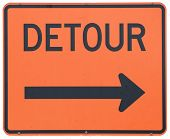 Detour Right