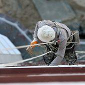 Industrielle Bergsteigen Arbeitnehmer (Maler)