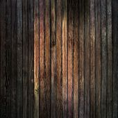 Grunge wood panels used as background