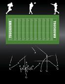 Football vector elements