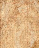 Old Topographical Map (Expedition background )
