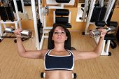Professional Fitness Instructor / shot in workout gym