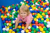 Girl With Varicoloured Balls