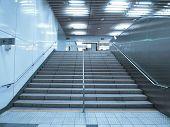 Stair in underground passage