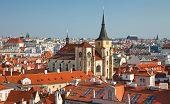 Red telhados da antiga cidade, Praga, República Checa