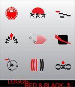 Elementos - Logos de design. São ideais para seu projeto e criação de marcas