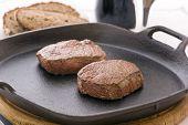 Steak in Pan