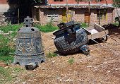 A Temple Backyard