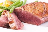 image of barbary duck  - Duck roasted - JPG
