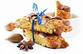 Italian Cantucci with almond