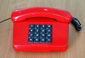 Old Style Red Phone