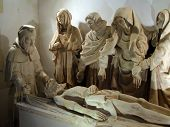 Sculpture Of Christ's Entombment, Late 15Rh Century,