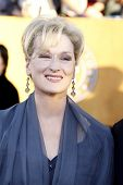 LOS ANGELES, CA - JAN 29: Meryl Streep at the 18th annual Screen Actor Guild Awards at the Shrine Au