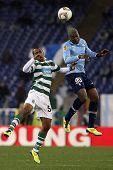 SS Lazio gegen sporting Lissabon