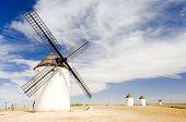 molinos de viento, Mota del Cuervo, Castilla-La Mancha, España