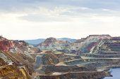 cobre de minas, Minas de Riotinto, Andaluzia, Espanha