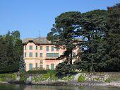 pink villa on como lake