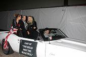 LOS ANGELES - NOV 25:  Zoe Katrina D'Andrea, Judy Lang, Katherine Kelly Lang arrives at the 2012 Hollywood Christmas Parade at Hollywood & Highland on November 25, 2012 in Los Angeles, CA