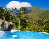 Pool At Arenal Volcano