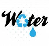 Water Recycling Graphic